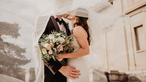 Glückwünsche zur standesamtlichen Hochzeit
