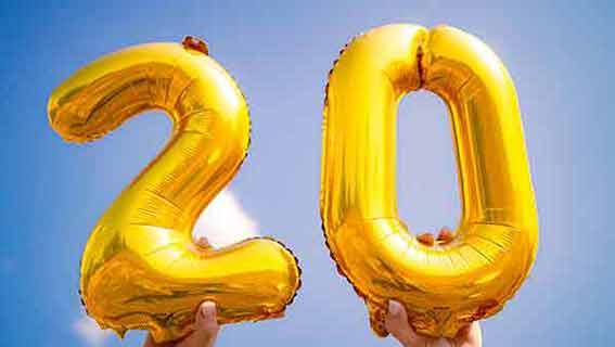 Geburtstagswünsche 20