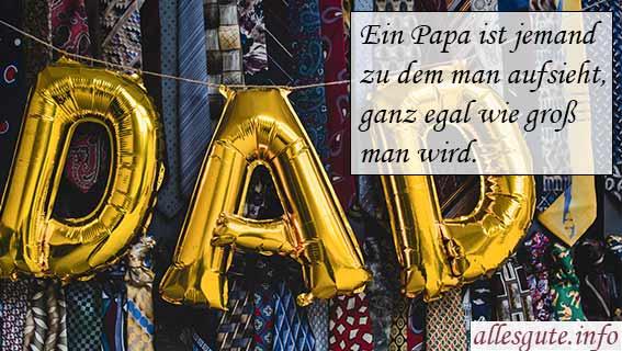 Geburtstagswünsche Papa
