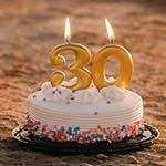 Glückwünsche zum 30 Geburtstag