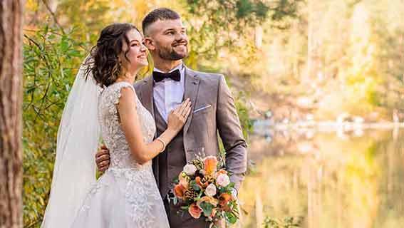 Hochzeitswünsche von Herzen
